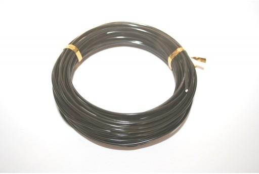 Filo di Alluminio Nero 2mm - 10mt