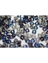 Quad® -Beads Bermuda Blue 4mm - 5gr