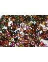 Perline Quad-Bead Magic Copper 4mm - 5gr