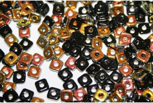 Quad® -Beads Jet Marea 4mm - 5gr
