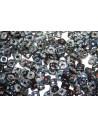 Quad® -Beads Jet Picasso 4mm - 5gr