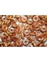 Wheel Beads Chalk White Celsian Full 6mm - 10gr