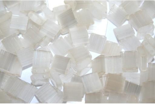 Miyuki Tila Beads Silk Pale Cream 5mm - 5gr