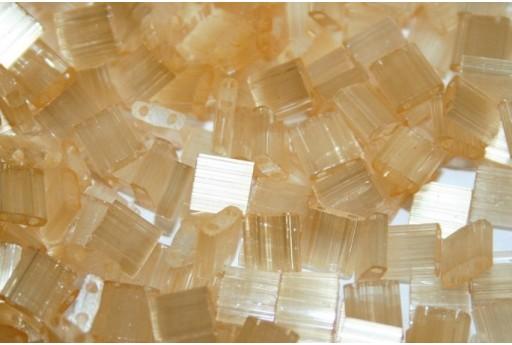Miyuki Tila Beads Silk Pale Light Orange 5mm - 5gr