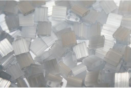 Perline Miyuki Tila Silk Pale Light Grey 5mm - 5gr