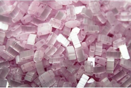 Miyuki Half Tila Beads Silk Pale Rose 2,5x5mm - 5gr