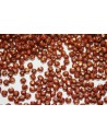 Fire Polished Beads Dark Bronze Opaque Red 2mm - 80pz