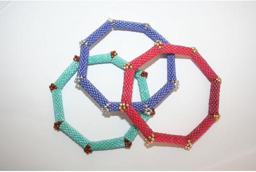 Blu Octagonal Bracelet Kit