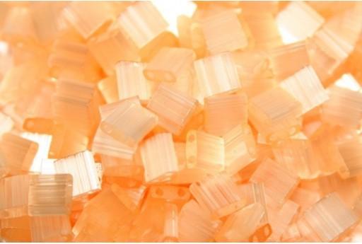 Miyuki Tila Beads Silk Pale Peach 5mm - 5gr