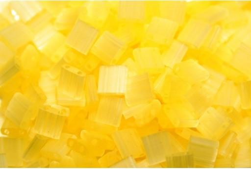 Miyuki Tila Beads Silk Pale Yellow 5mm - 5gr