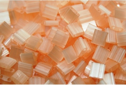 Miyuki Tila Beads Silk Pale Light Coral 5mm - 5gr