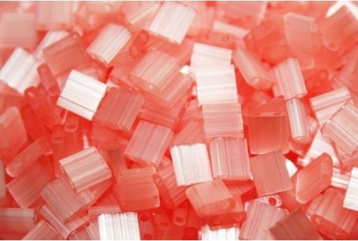 Miyuki Tila Beads Silk Pale Coral 5mm - 5gr