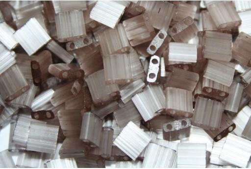 Miyuki Tila Beads Silk Pale Lilac 5mm - 5gr