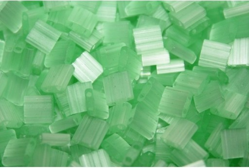 Perline Miyuki Tila Silk Pale Green 5mm - 5gr