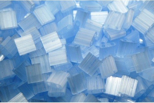 Miyuki Tila Beads Silk Pale Blue 5mm - 5gr
