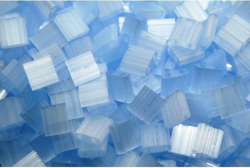 Perline Miyuki Tila Silk Pale Blue 5mm - 5gr