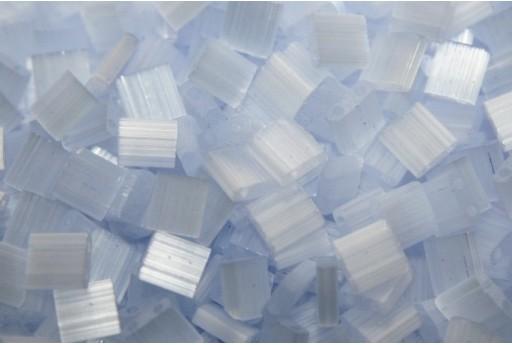 Miyuki Tila Beads Silk Pale Light Lavender 5mm - 5gr