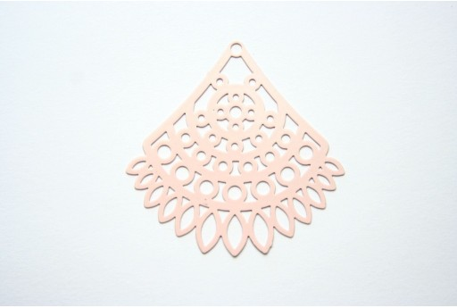 Somon Laser Cut Filigree - Fan 40x34mm - 1pcs