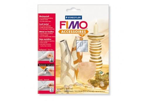 Fimo - Silver Leaf Metal