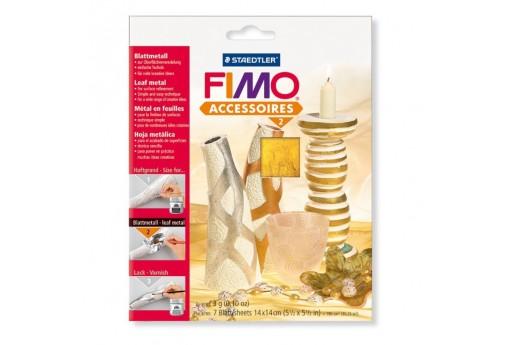 Fimo Blister Foglia Metallo Oro