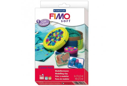 Fimo Soft Set Cool Colours