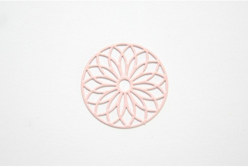 Somon Laser Cut Filigree - Round 24mm - 2pcs