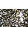 Superduo Beads Tweedy Gold 5x2,5mm - 10gr