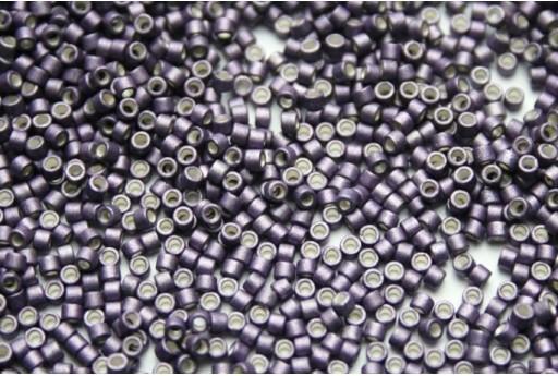 Miyuki Delica Beads Galvanized Matted Eggplant 11/0 - 8gr