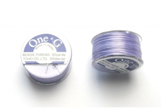 Toho One-G Nylon Thread 0,20mm Lavender 46m
