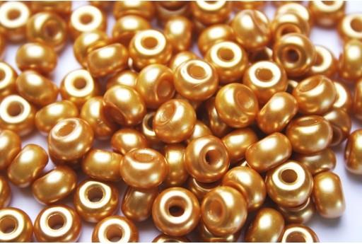 Donut Beads Topaz 9mm - 20pcs