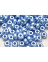 Perline Donut Light Blue 9mm - 20pz