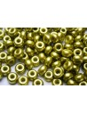 Donut Beads Light Olive 9mm - 20pcs