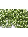 Donut Beads Olive 9mm - 20pcs