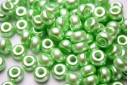 Perline Donut Light Green 9mm - 20pz