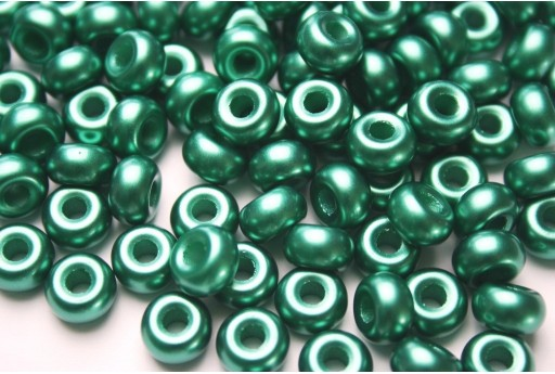Donut Beads Dark Cold 9mm - 20pcs