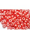 Donut Beads Light Red 9mm - 20pcs