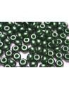 Donut Beads Green 9mm - 20pcs