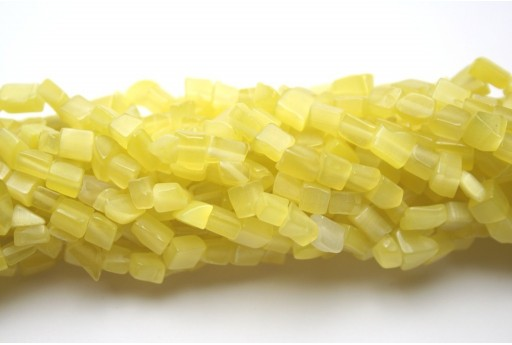 Perline Occhi di Gatto Giallo Chips 5x8mm - 220pz