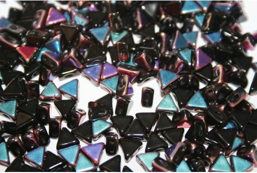 Khéops® Par Puca® Beads Jet Sliperit 6mm - 10gr