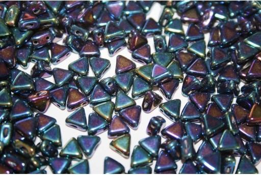 Khéops® Par Puca® Beads Iris Blue 6mm - 10gr