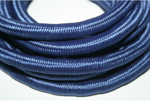 Climbing Cord Polyester Blue 10mm - 1mt