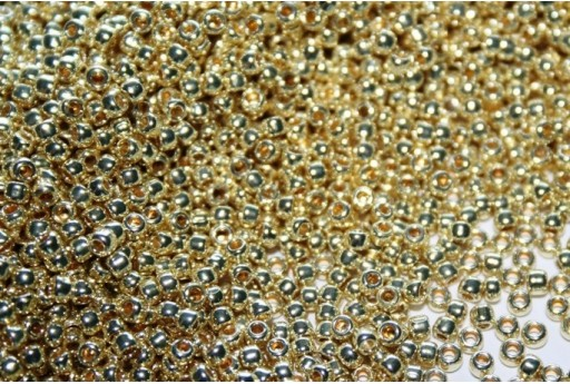 Toho Seed Beads Galvanized Yellow Gold 11/0 - 10gr