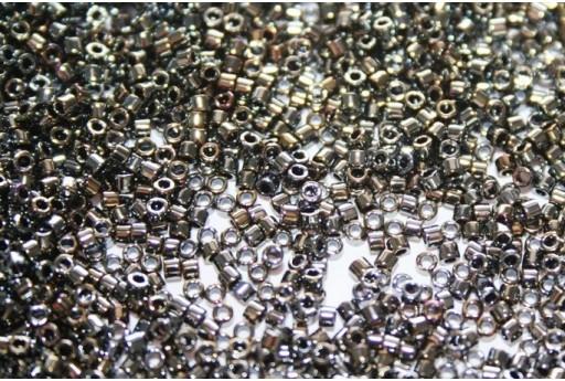 Miyuki Delica Beads Metallic Dark Steel 11/0 - 8gr