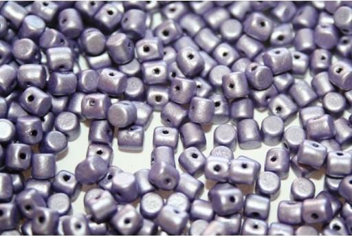 Minos® par Puca® Beads Metallic Mat Purple 3x2,5mm - 5gr