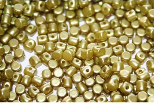 Minos® par Puca® Beads Pastel Lime 3x2,5mm - 5gr