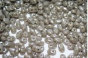 Miniduo Beads Opaque Grey Luster 4x2,5mm - 10gr