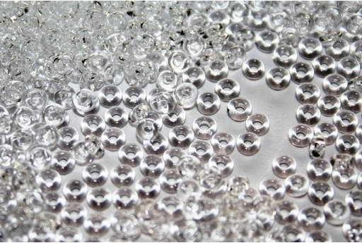 Demi Round Toho Seed Beeds Crystal 8/0 - 10gr