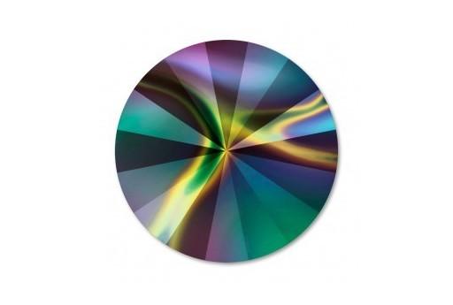 Rivoli Swarovski Rainbow Dark 1122 12mm - 2pz