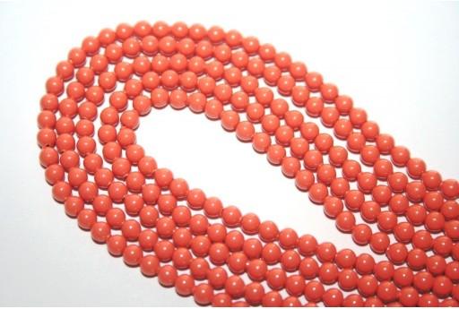 Perle Swarovski 5810 Coral 3mm - 20pz