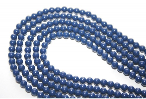 Swarovski Pearls 5810 Dark Lapis 3mm - 20pcs